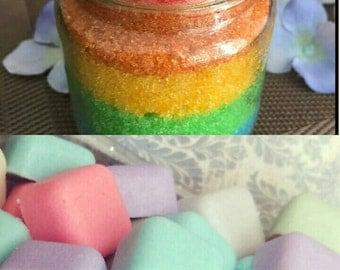 Rainbow Sugar Scrub