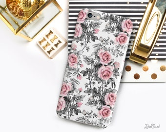 iPhone 7 Case Pink rose iPhone 6 Case iPhone 6s Case iPhone 6 Plus Case iPhone 6s Plus Case iPhone 7 Plus Case Samsung Galaxy S7 Case