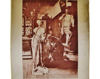 Bellini Nürnberg 1900 photogravure henry t carris i puritani opera by
