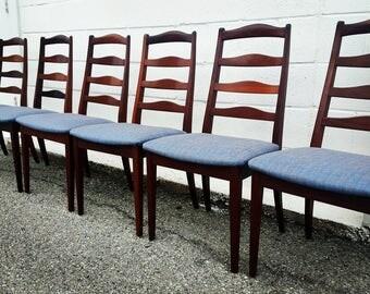 Mid Century Modern Dining Chairs / Gplan