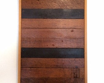 Reclaimed Flooring Wall Decor
