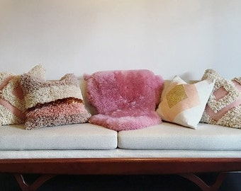 Midcentury Adrian Pearsall Sofa Custom re-upholstered