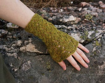 Light Green Wrist Warmers
