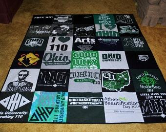 T-Shirt Blanket (Custom)