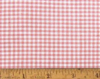 "Petal Pink 2 Homespun Cotton Fabric (Full Yard 36"" x 44"")"