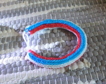 Red, White and Blue Patriotic Bracelet