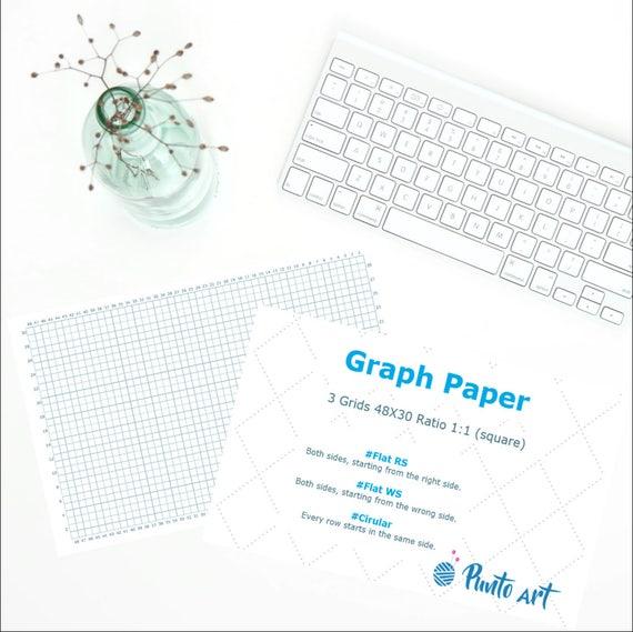 Knitting Graph Paper Uk : Pattern design graph paper printable grid for knitting