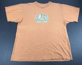 Vintage 90s Alien Workshop skateboards t-shirt mens XL