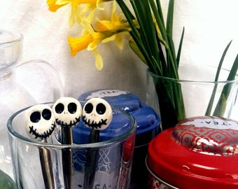 small spoon Jack Skellington