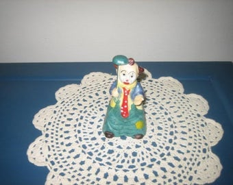 Vintage Sad clown Bell