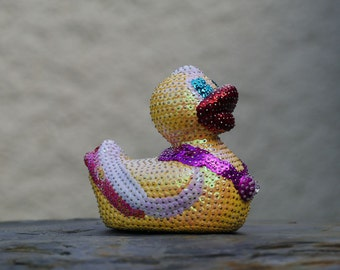 Decoration - Duck made from sequins