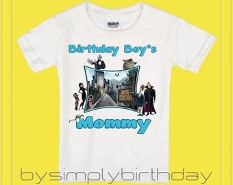 Mom's Hotel Transylvania Birthday Shirt, Hotel Transylvania Shirt, Family Shirts, Parents Shirts, Boy's Birthday Shirt