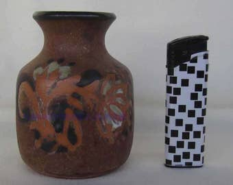 American pottery small skillfull decorated vase by Berkshire Pottery