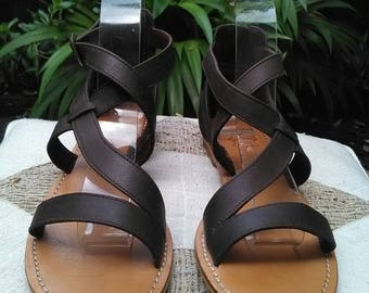 Women Leather Sandals – Brown Sandals – Handmade Leather Sandals – Summer Sandals