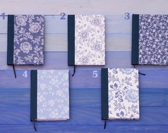 Blue Collection - Choose a Blue A6 notebook for you!
