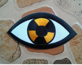 Alien monster eye Patch.