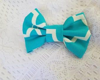 Bow, print, fabric, 100% cotton