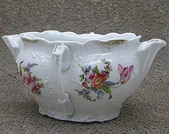 Old late 18th century porcelain SAUCEBOAT