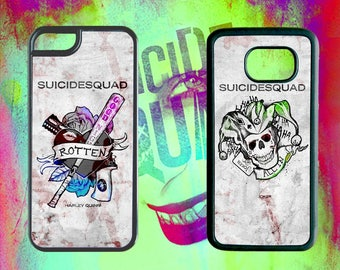 sUIcIdE SQuAd Phone Cases for iPhone Samsung Galaxy & Galaxy Note