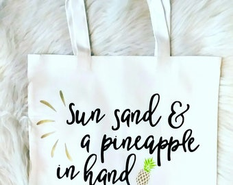 Tote bag canvas, tote bag, white tote, beach bag