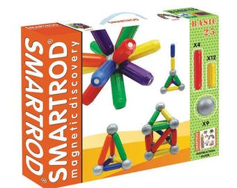 SmartRod Magnetic Discovery Set 25 pcs - Construction toys