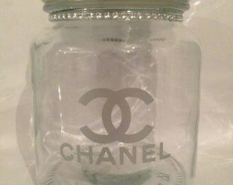 Chanel Inspired cookie jar
