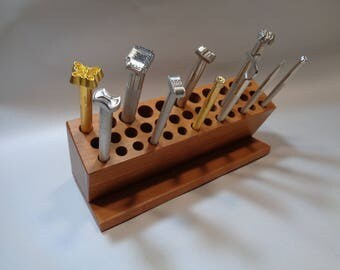 Leather Stamp Tool Rack Holds 37 Tools