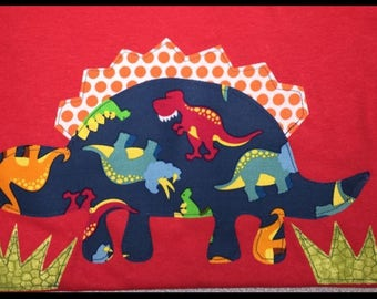Dinosaur/ fabric/ iron on applique