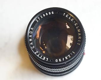 Leica Leitz Tele-Elmarit 90mm f/2.8