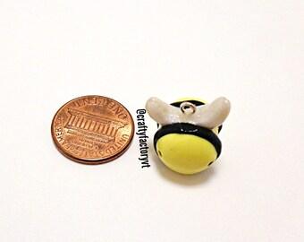 Polymer Clay Bee Charm