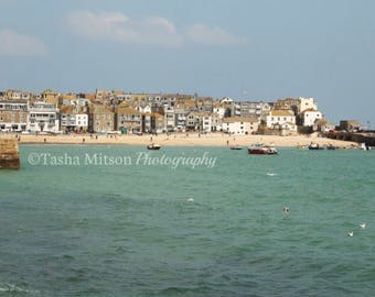 St Ives in the Sun (Greetings Card)