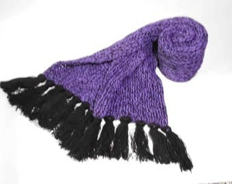 Purple Long Scarf