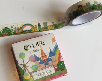 Japanese Style Playground Washi Tape