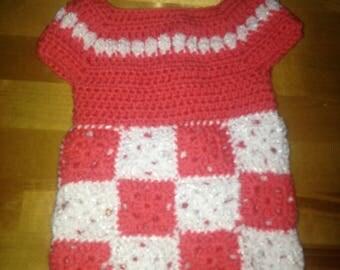 Crocheted dress