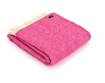 Welsh Pure New Wool Throw