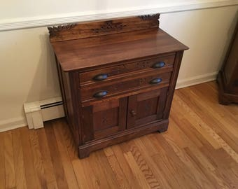 Antique Eastlake Chest / Late 1800's - Early 1900's
