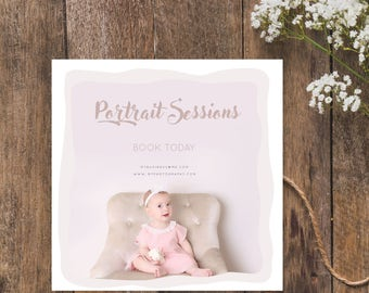 Portrait Session Advert Template