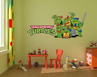 Sesame Street Wall Decal Stickers Bedroom Wall Murals Sesame - Ninja turtle wall decals
