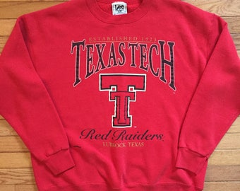 Texas tech red raiders pullover sweater