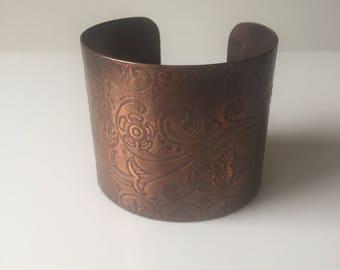 Free shipping Bangle Copper Bracelet Bohemian style.