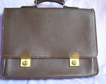 Vintage - old vintage - Briefcase Briefcase - leather - 50 years