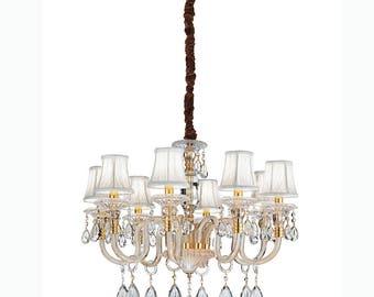 Linea Impero chandelier 8 lights