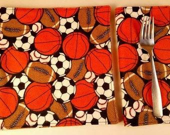 Reusable Napkins - Serviettes de table réutilisables