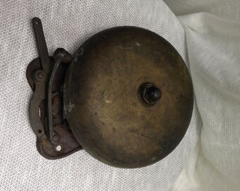 Vintage Firehouse/Boxing ring Bell