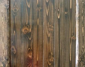 Barn Door Stain Sample - Kona