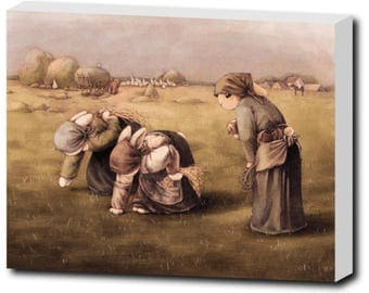 Rabbit With Mask - The Gleaners, Canvas Art Prints
