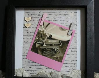 Vintage Love Pegged Picture