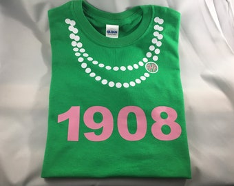 College girl shirt AKA shown (Alpha Kappa Alpha) t-shirt         ALL sororities available