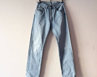 Levi's 505 light wash perfect vintage years 80. Size W 30 L 32