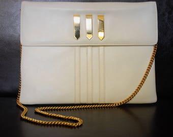 Susan Gail Leather clutch